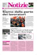 Immagine copertina Cgil Notizie del 01/02/2009