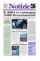 Immagine copertina Cgil Notizie del 01/01/2005